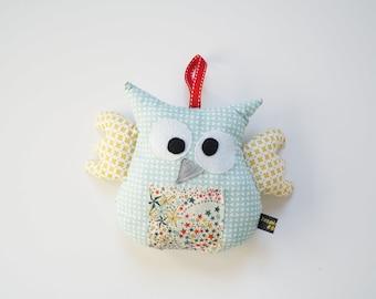Handmade OWL blanket