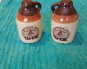 Tahoe Souvenir Jugs Salt and Pepper Shakers