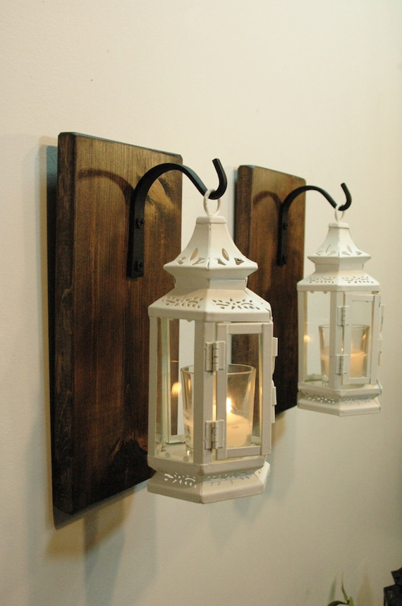 Farmhouse Lanterns Shabby Lanterns Victorian Decor