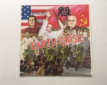 Steel Pulse Earth Crisis Vinyl LP PROMO Rare Roots Reggae