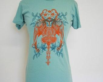 Moroccan Elephants Jade T Shirt