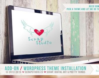 Add-on - WordPress Theme Installation