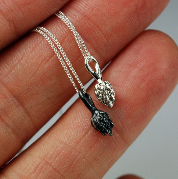 Silver NYC High Line- Tiny Tuft Necklace