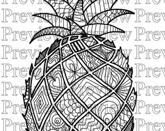 Color My Pineapple