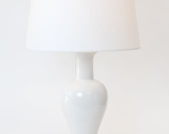 Vintage Made Cordless - Ceramic Table Lamp - Rechargeable Battery Operated