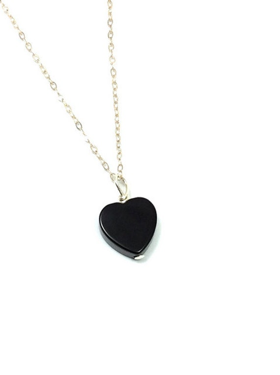 Onyx necklace black heart necklace crystal heart pendant onyx necklace black heart necklace crystal heart pendant onyx crystal necklace sterling silver black stone necklace heart stone jewelry audiocablefo