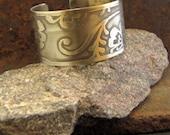 Wide Cuff Bracelet, Henna...