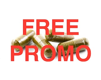 FREE PROMO OFFER Tulsi pure Capsules (Holy Basil) Natural 500 mg