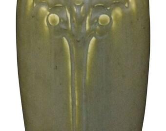 Rookwood Pottery 1920s Matte Olive Green Vase 2115