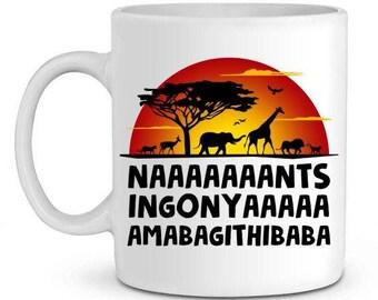 Mug baba speakers ingonyama bagithi lion king