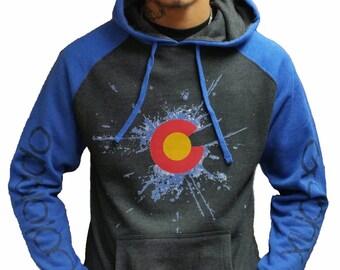 Colorado 2 Tone Splat Hoodie
