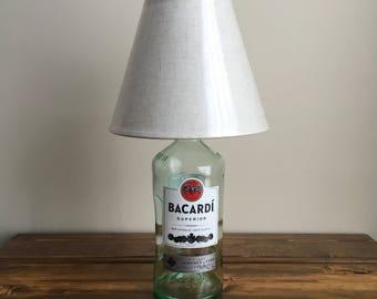 Bacardi desk lamp.