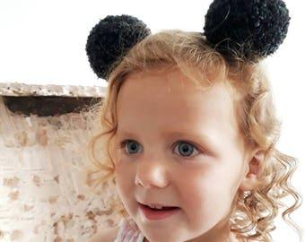 Animal ears, animal ears headband, bear ears, bear ears headband, birthday photo prop,  toddler hairband, animal headband, girls party prop