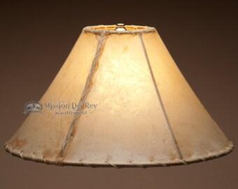 "16"" Rawhide Lamp Shade -Southwestern"