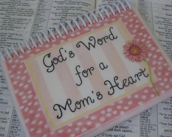God's Word for a Mom's Heart, Spiral-Bound, Laminated Bible Verse Cards