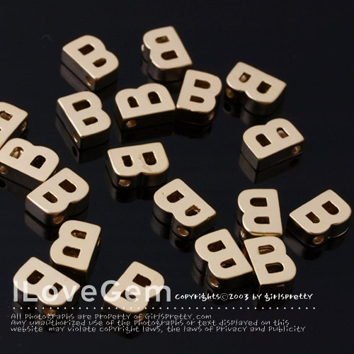 letters in alphabet np 1458 matt gold plated mini pendant alphabet letter b 1458