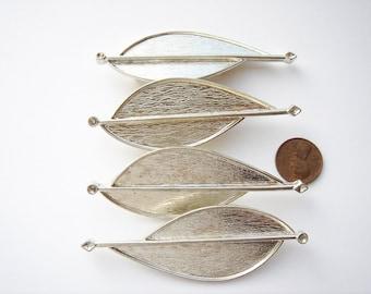 28 Silver tone vintage Modern Art brooch settings CS072-28. Regular price 39.99 25% off now 29.99