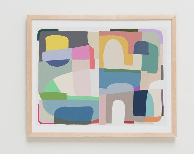 Fine Art Print.  Abstract, April 05, 2018