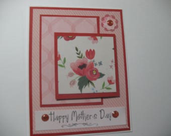 Flower Happy Mother's Day Card