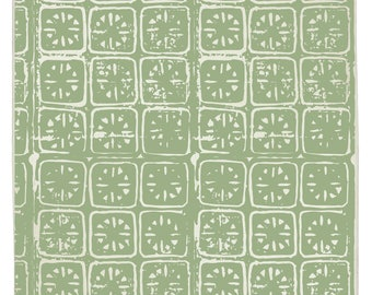 Ancient Stars Organic Kitchen Towel - Sage Green