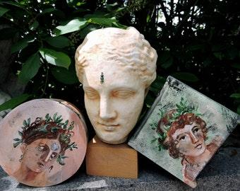 Roman Fresco Keepsake Boxes