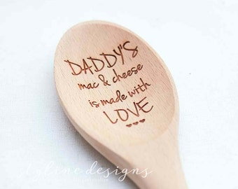 Personalized Engraved Wooden Spoon