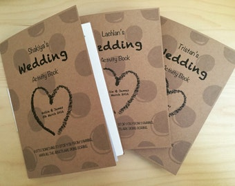 Children's Wedding Activity Book