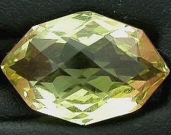 15x10 marquise checker citrine gem gemstone natural