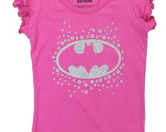 Pink Bat Girl Tee