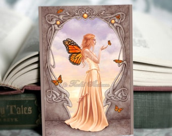 ACEO Citrine Birthstone Fairy Limited Edition Mini print