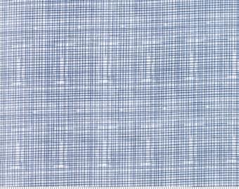 Hello World grid cotton fabric by Abi Hall for Moda fabrics 35305 11