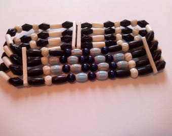 Necklace Choker Native American 4 rows