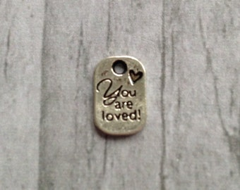 You are loved Charm, (C1.1)