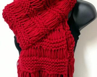 weft collar hand knitting woman