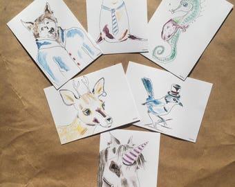 Postcard Six Pack Set