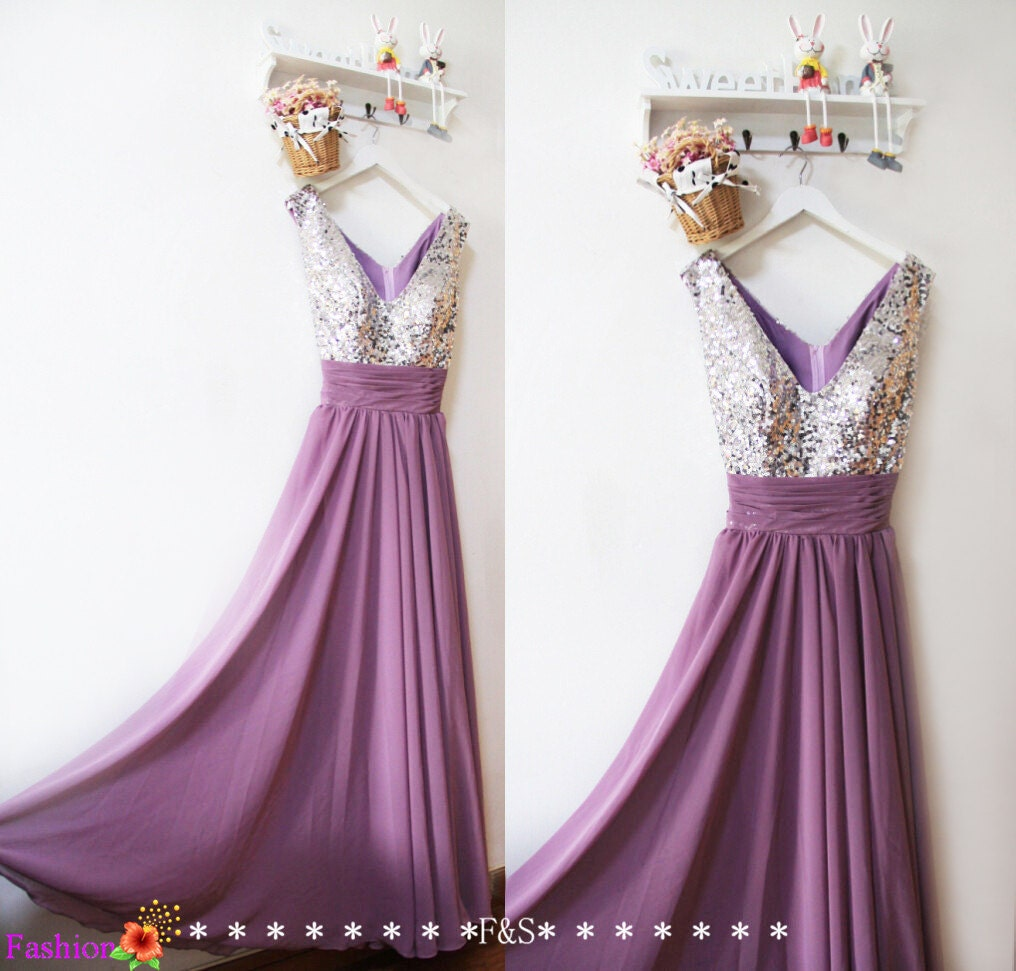 Purple prom dresslong sequin sexy prom dress 2016elegant zoom ombrellifo Gallery