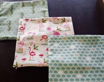 Flamingo Pineapple Cushion cover 40 x 40