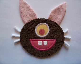 Brown Bunny Foo Foo Patch