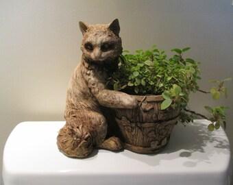 Precious the Cat planter