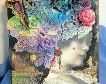 Angela Holt inspired art.