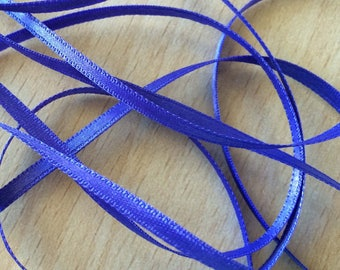 Comet satin ribbon double sided 37