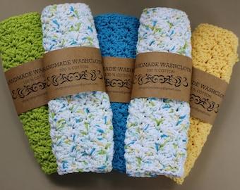 100% Cotton Washcloths / Dishcloths