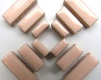 Ceramic Rectangle - Sweet Pink - 50g / 1.75 oz(approx. 60 pieces)