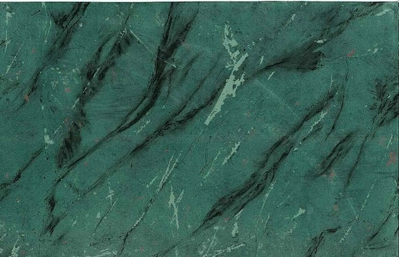 Carey Lind Green Black Faux MARBLE VINTAGE Wallpaper D Rs DS6009 Emerald Veins Veining Designer Red From TheLoveofWallpaper On Etsy Studio