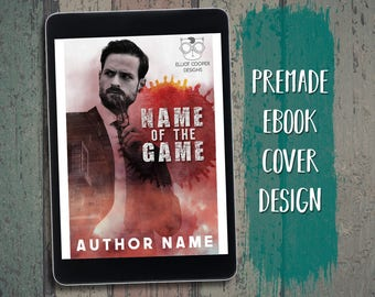 "eBook Cover Design Premade ""Name of the Game"" Thriller Suspense Intrigue Espionage Contemporary"