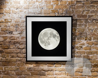 Wall Art Print Picture Of The Moon