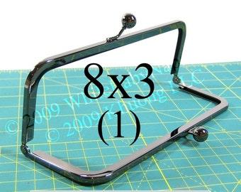 8x3 Duskcoat Gunmetal(TM) purse frame