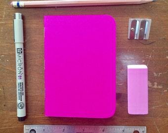 Bulk Blank Notebooks   3.5 x 5   Pink Notebook   Notebook   Sketchbook   Journal   Pink Journal   Pink Sketchbook   Travelers Notebook