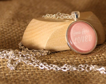 You Are Loved Photo Necklace- Jewelry for a Cause