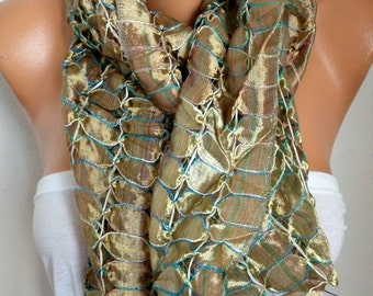 Silk Scarf, Cowl Scarf, Wedding Shawl, Oversized Scarf,Bridal Scarf,Bridesmaid Gift, Gift Ideas For Her Women Fashion Accessories,